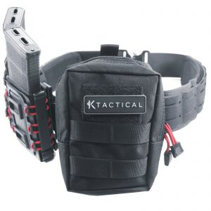 Tactical Molle Pouch Admin Utility Medical Battle Belt Military Black Small Bag 1