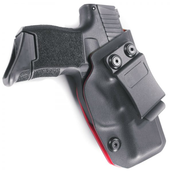 For SIG P365 IWB Red / Black Kydex Concealed Carry Retention Holster Right Hand 1