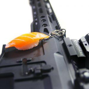 Sushi Charm Key Chain and Mount